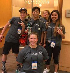 Volunteer at Special Olympics