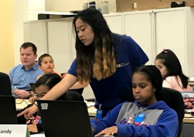 Teaching at Cyber Camp