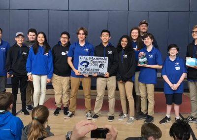 First Place, Robotics Tournament